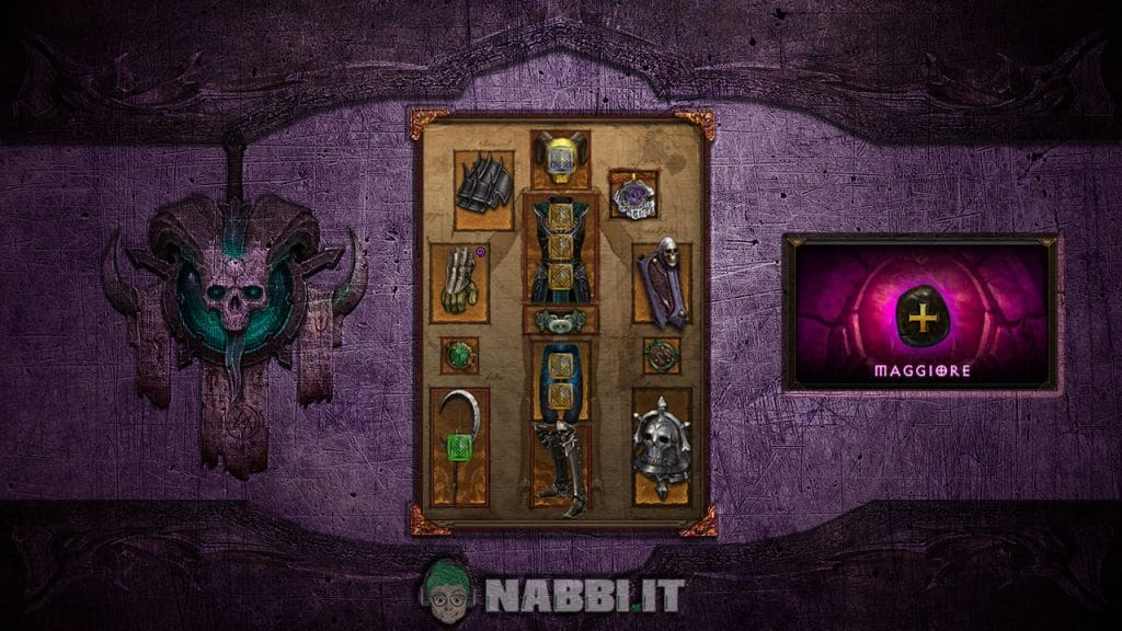 Diablo road to 100 negromante lod build