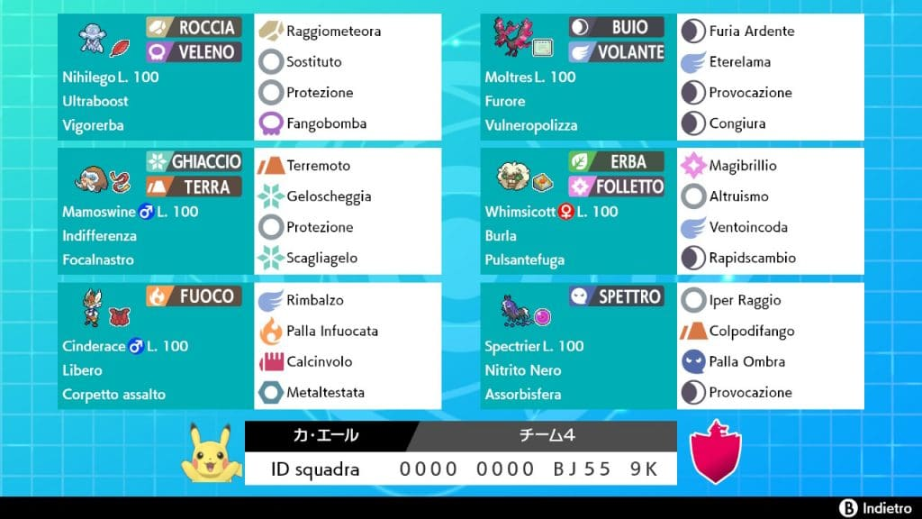 Via Vittoria VGC 2021 Team Kimura Cinderace Pokémon
