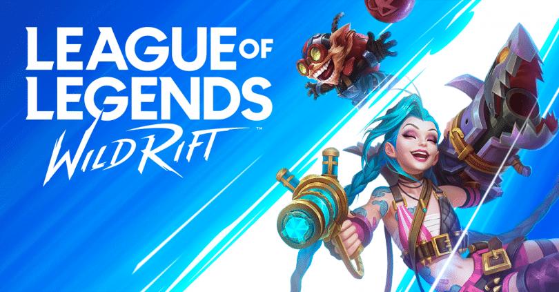 Wild Rift League of Legends homepage art