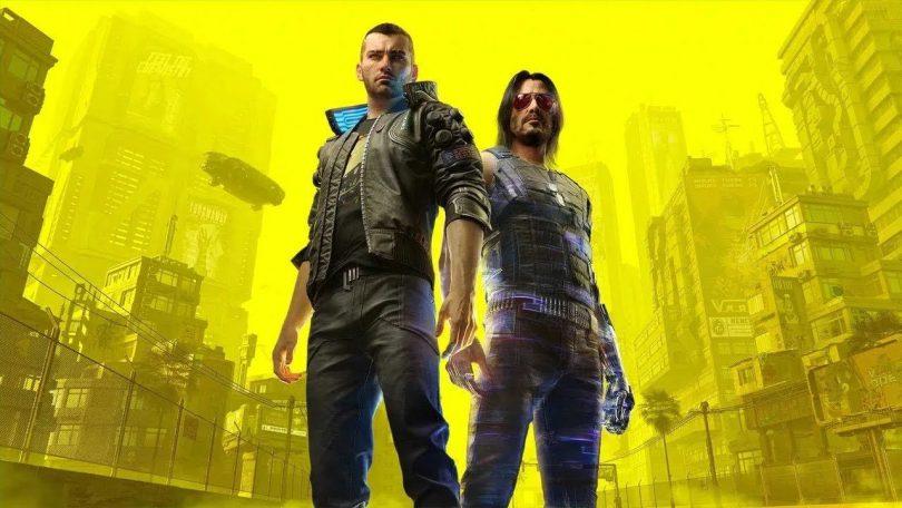 cyberpunk-2077 copertina V Keanu Reeves