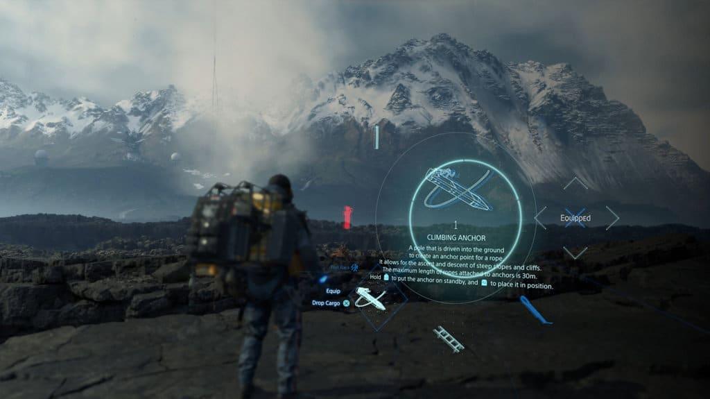 Death stranding gameplay inizio quest