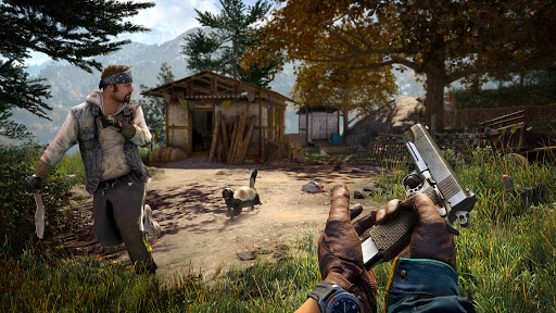 far cry 4 scena gameplay pc