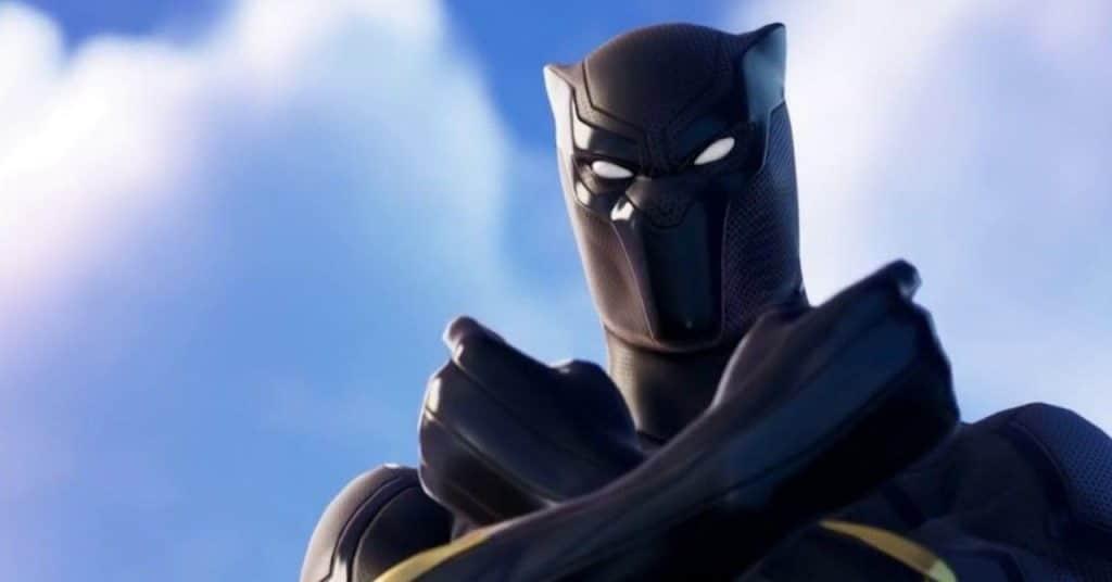 marvel fortnite black panther 1