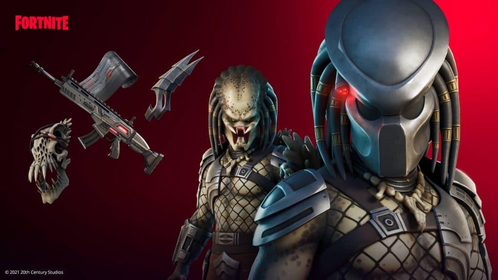 Fortnite glitch Predator