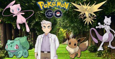 Pokémon Go Kanto Oak