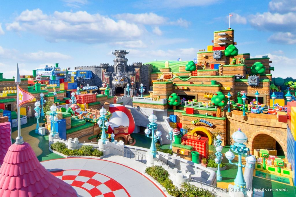 Super Nintendo World Parco