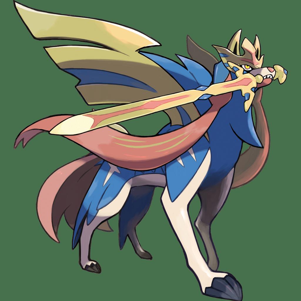 Zacian Pokemon VGC 2021 Series 8