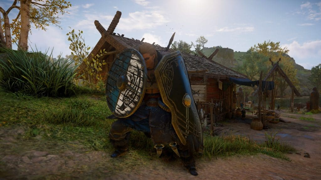 assassin's creed valhalla dual wielding