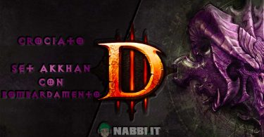 diablo crociato set akkhan bombardamento road to 100 copertina