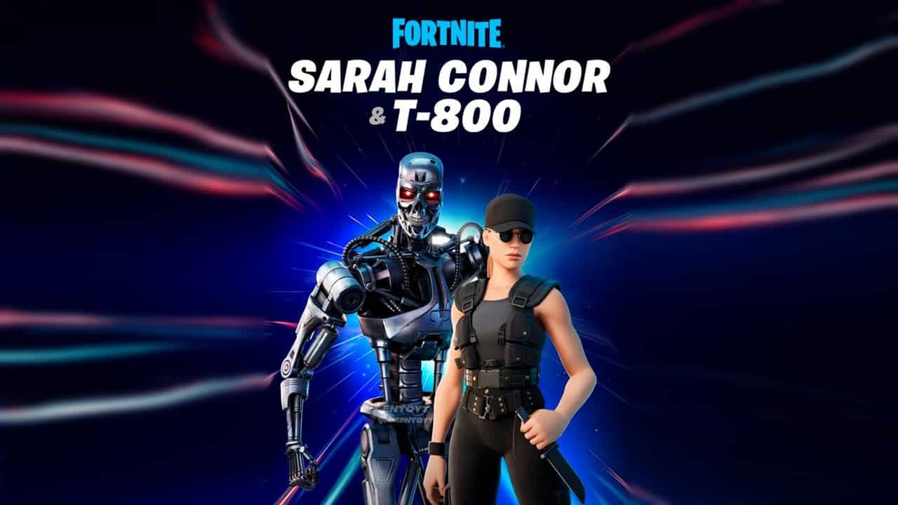 fortnite terminator sarah connor