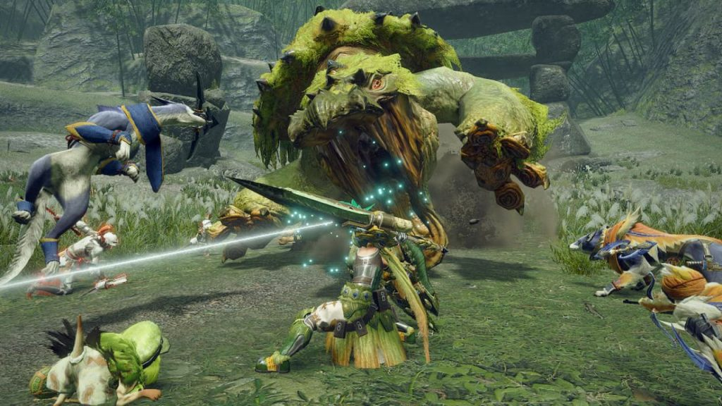 monster hunter rise gameplay spadone