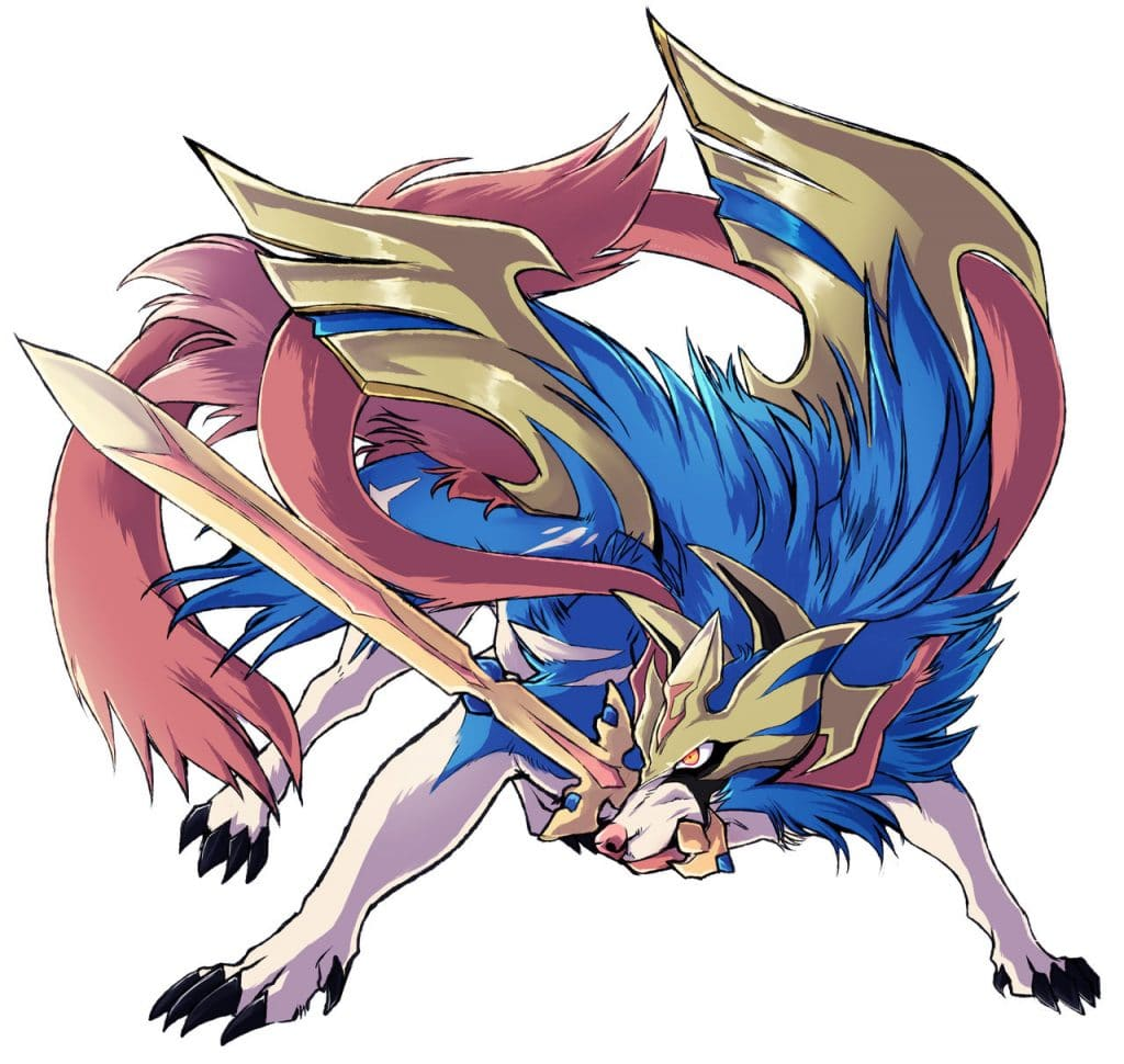 zacian fan art pokemon