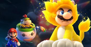 Bowser's Fury Super Mario 3d world copertina
