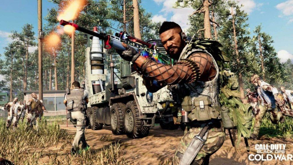 Call of Duty Zombie Outbreak personaggio