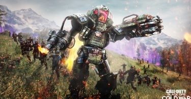 Call of Duty Cold War Zombie Outbreak robot