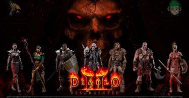 Diablo 2 remastered an00bis copertina