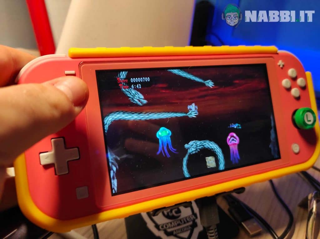 Ghost 'n Goblins remake switch lite fabrizio