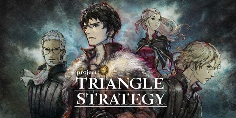 Project triangle strategy copertina