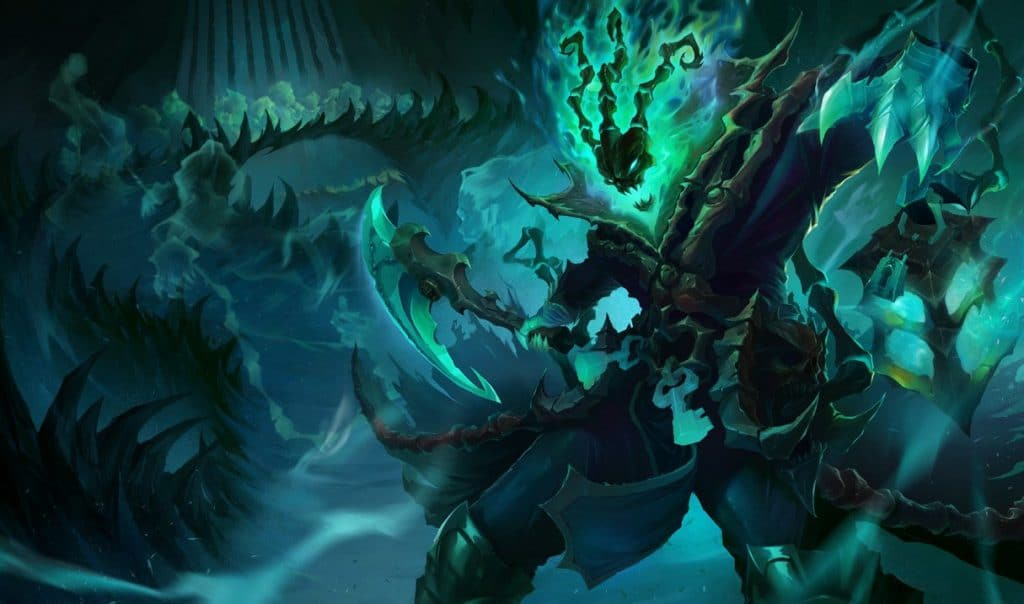 LoL Support Thresh Splash Art