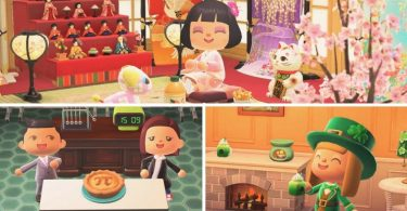 animal crossing new horizons marzo 2021 p day san patrizio