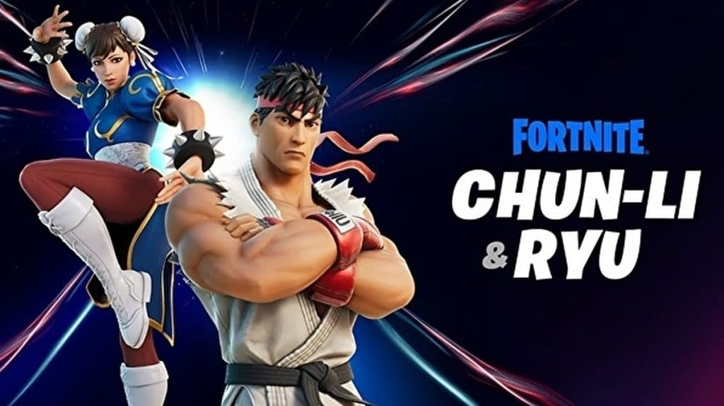 street fighter fortnite chun li ryu 1