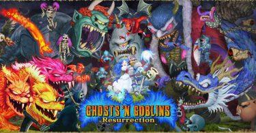 ghost 'n goblins remake personaggi copertina