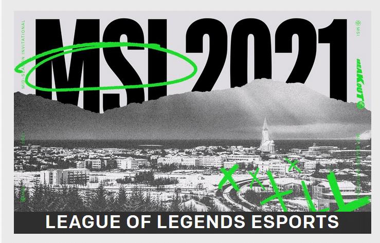 msi 2021 lol esports