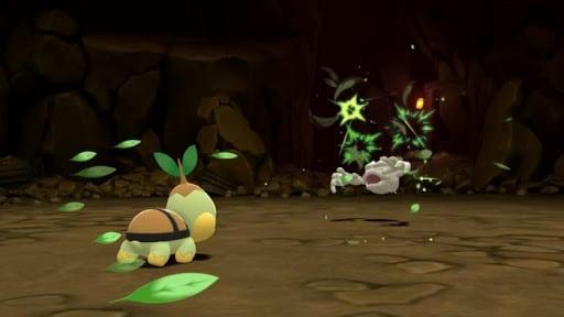 pokemon-diamante-lucente-e-perla-splendente gameplay lotta