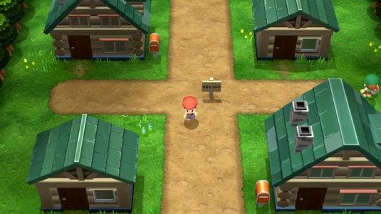 pokemon-diamante-lucente-e-perla-splendente gameplay prima città