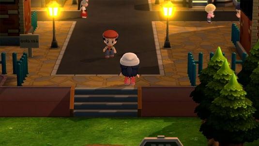 pokemon-diamante-lucente-e-perla-splendente gameplay