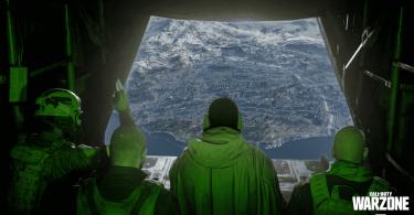 warzone lancio squadra mappa