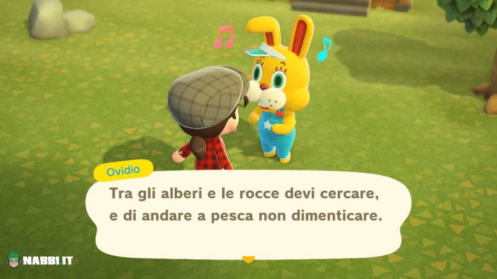Animal Crossing Bunny Day 2021 ovidio uova