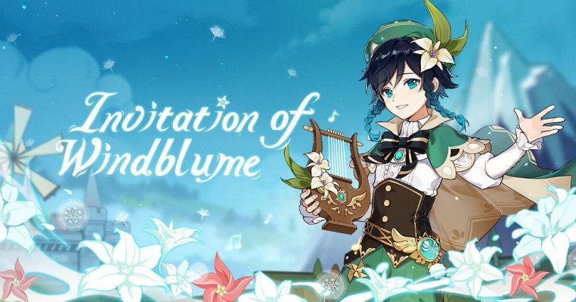 Ode to Flower and Cloud su Genshin Impact fiori personaggio