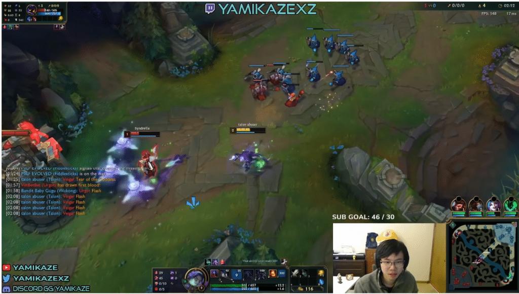 LoL Mid Lane Yamikaze screenshot