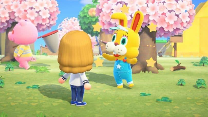 animal crossing bunny day 2021 zipper coniglio