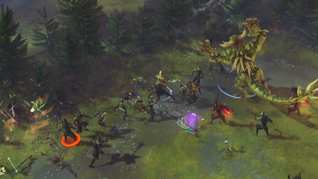 beta di magic legends personaggi alberi