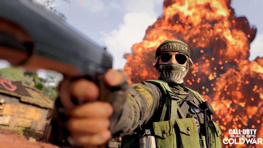 black ops cold war naga esplosione pistola