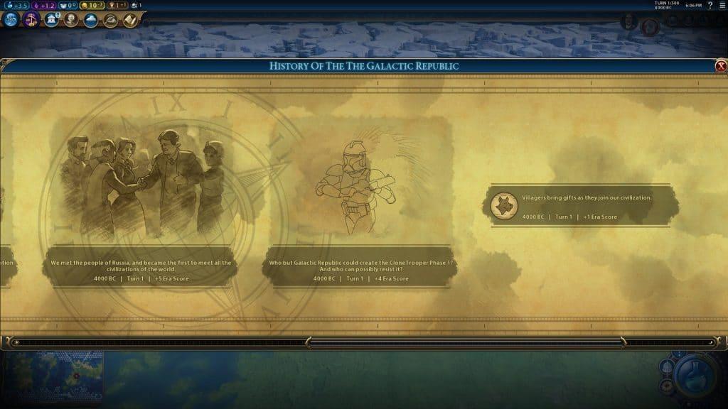 civilization 6 star wars storia