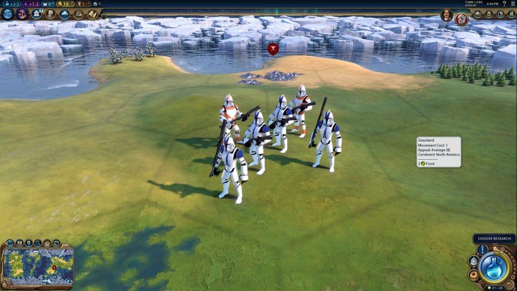 civilization 6 star wars truppe