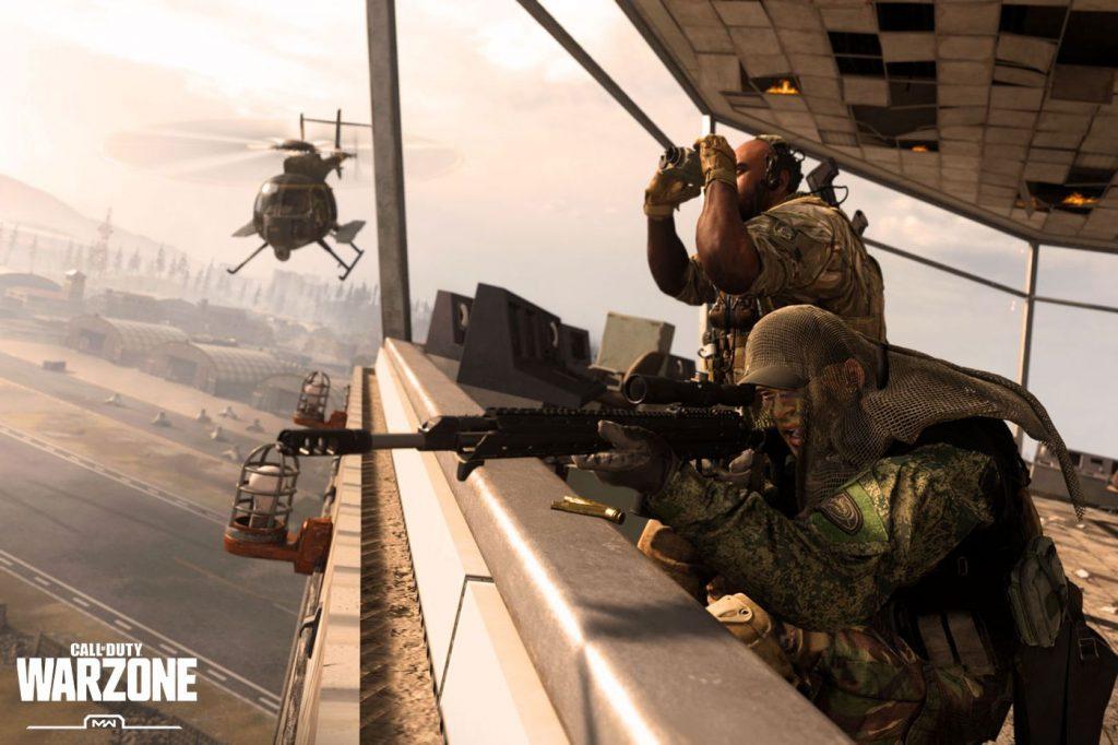 cod warzone ban elicottero cecchino