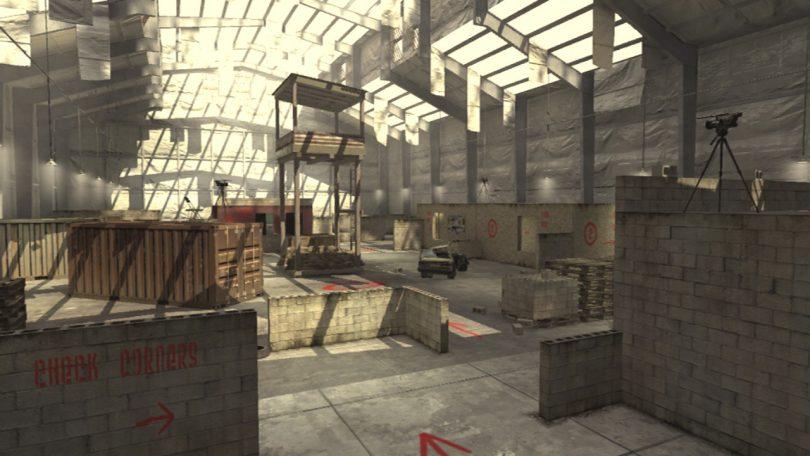 nuova mappa di call of duty killhouse