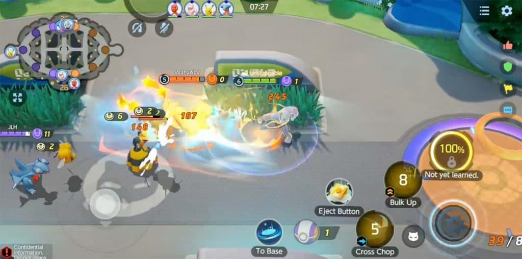 pokémon unite gameplay 2