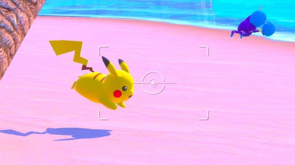 pokémon snap feature pikachu