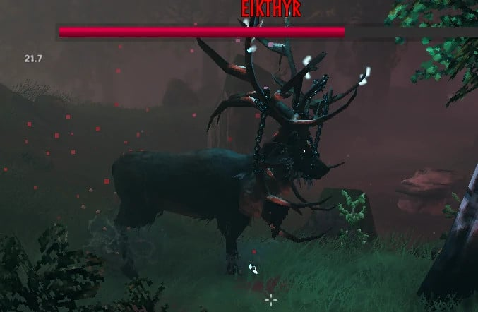 valheim boss Eykhtir the stag erba