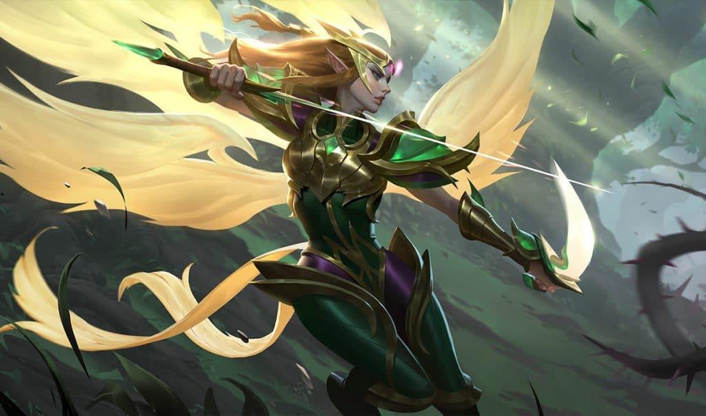 TFT Tactics Kayle Verde Smeraldo