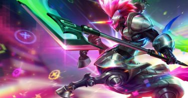 LoL Jungle Hecarim Arcade Splash Art