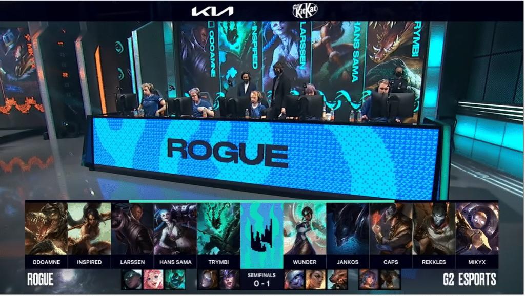 LoL Jungle LEC Finals G2 vs Rogue Game