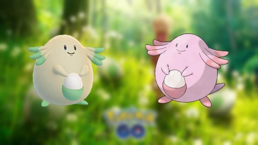 Pokémon GO Spring Into Spring evento chansey