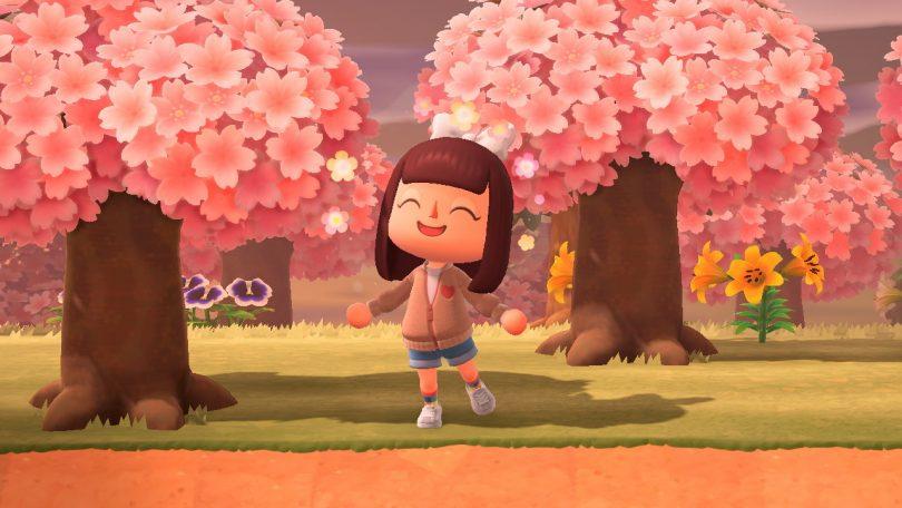 Schemi Fiori di Ciliegio in Animal Crossing