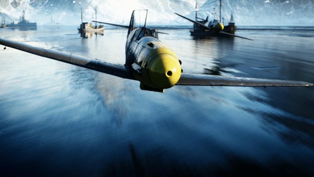 battlefield mobile aerei
